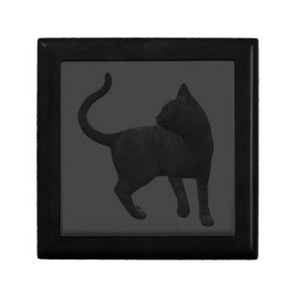 有害な黒猫のギフト用の箱 ギフトボックス