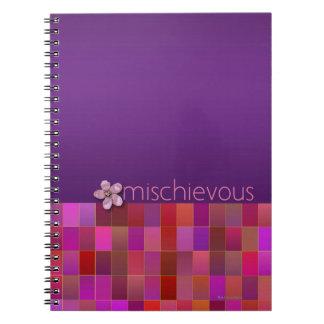 有害-螺線形 ノートブック