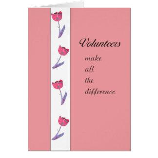 有志の感謝カード カード