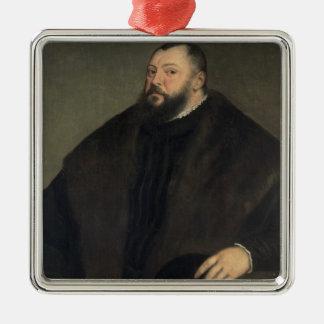 有権者ヨハンFreidrich venザクセン1550-51年 メタルオーナメント