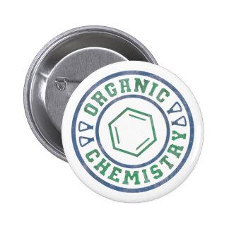 有機化学 5.7CM 丸型バッジ