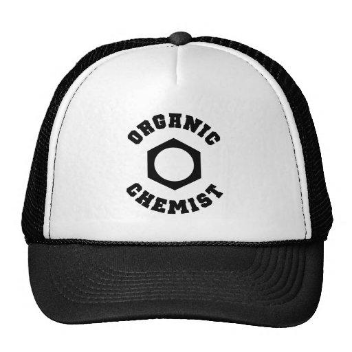 有機性 化学者 帽子 トラッカーキャップ