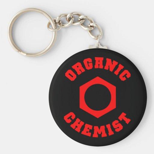 有機性 化学者 Keychain キーチェーン