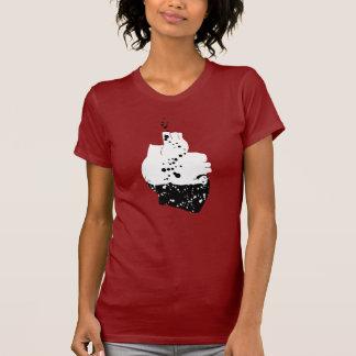 有毒なハート Tシャツ