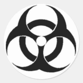 有毒な大きい ラウンドシール