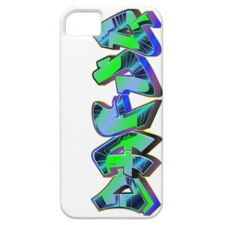 有毒な落書きのiPhone 5の場合。 穹窖 iPhone SE/5/5s ケース