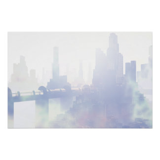 有毒な都市ポスター ポスター