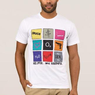 有用および有害 Tシャツ