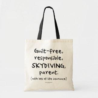 有罪なしのSKYDIVING親 トートバッグ