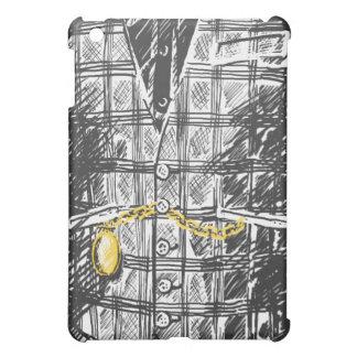 服を着るシャープ iPad MINIカバー