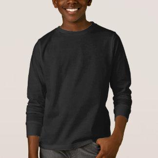 服装の暗闇子供の背部だけ Tシャツ