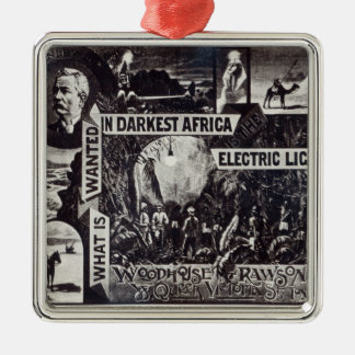望まれる何が最も暗いアフリカで電気です メタルオーナメント