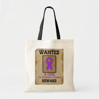望まれる: アルツハイマー病のための治療 トートバッグ