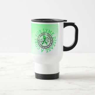 望まれる: ライム病のコーヒーカップのための治療 トラベルマグ