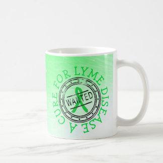 望まれる: ライム病のコーヒー・マグのための治療 コーヒーマグカップ