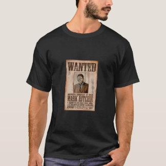 望まれる- Ritchieに印を付けて下さい Tシャツ