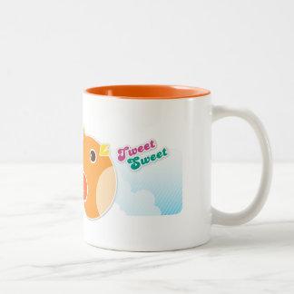 朝のさえずり ツートーンマグカップ