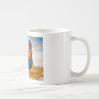 朝のオンドリ コーヒーマグカップ