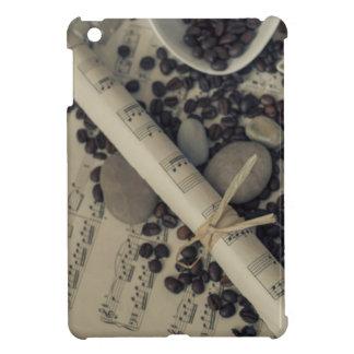 朝のコーヒー iPad MINIケース