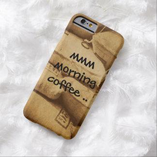 朝のコーヒーiphone6箱。 barely there iPhone 6 ケース