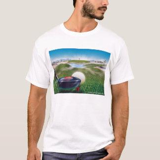 朝のゴルフ Tシャツ