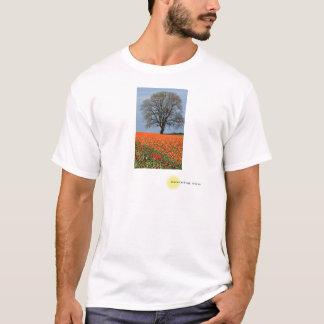 朝のチューリップ Tシャツ