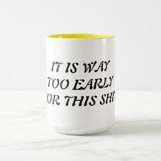 朝のマグ マグカップ