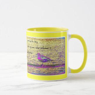 朝の俳句のマグ マグカップ