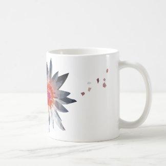 朝の優雅の《植物》スイレンのコーヒー・マグ コーヒーマグカップ