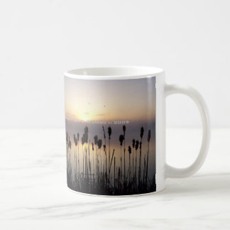朝の日の出 コーヒーマグカップ