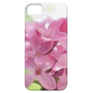 朝の日光の薄紫の花 iPhone SE/5/5s ケース