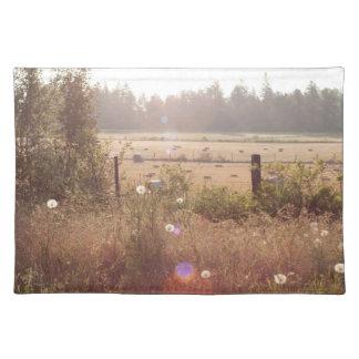 朝の日光; 文字無し ランチョンマット