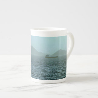 朝の海の霧 ボーンチャイナカップ