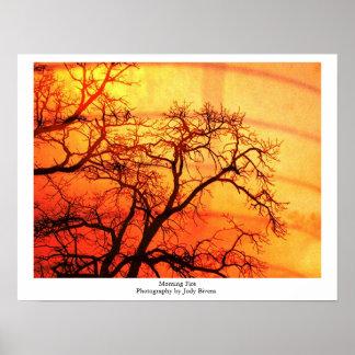 朝の火 ポスター