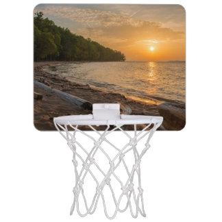 朝の白熱 ミニバスケットボールゴール