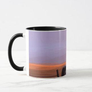 朝の虹 マグカップ