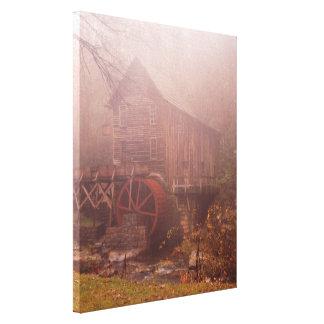 朝の霧 キャンバスプリント