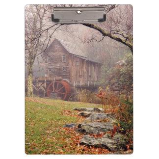 朝の霧 クリップボード