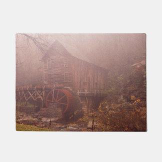 朝の霧 ドアマット