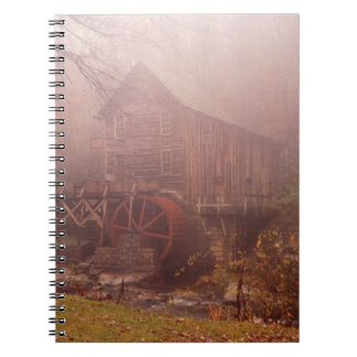 朝の霧 ノートブック