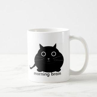朝の頭脳 コーヒーマグカップ