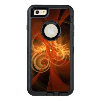 朝の魔法の抽象美術 オッターボックスディフェンダーiPhoneケース