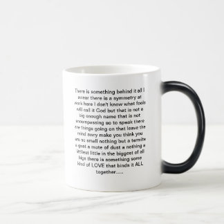 朝の黙想のコーヒー・マグ モーフィングマグカップ