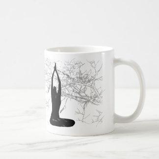 朝の黙想のマグ コーヒーマグカップ