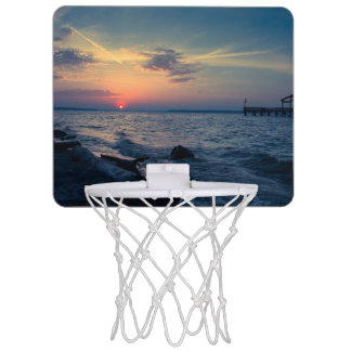 朝ライト ミニバスケットボールゴール