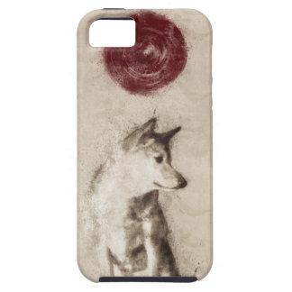 朝日の柴犬 iPhone SE/5/5s ケース