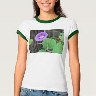 朝顔のワイシャツ Tシャツ