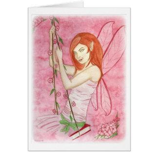 朝顔の妖精Notecard カード