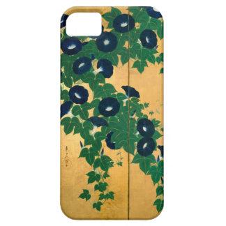 朝顔の(の部分の)、其一の朝顔(詳細)、Kiitsu iPhone SE/5/5s ケース