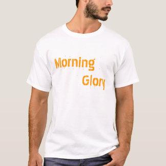 朝顔のTシャツ Tシャツ